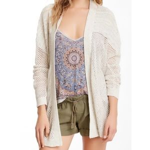 House of Harlow | Open Knit Cardigan